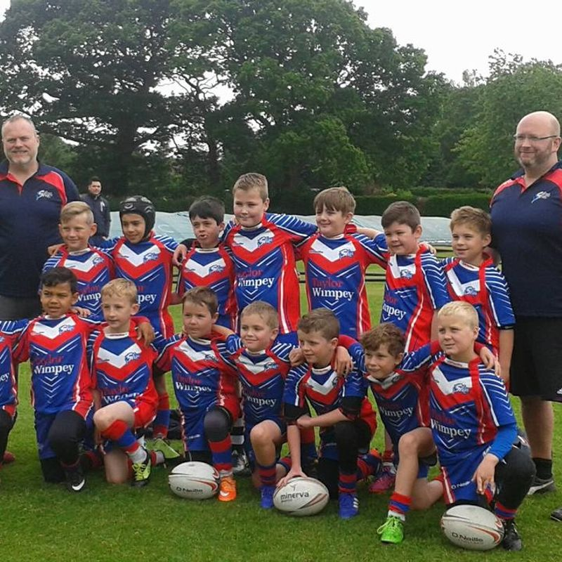 Under 9's beat St Judes  11 - 6