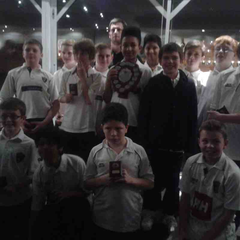U11s Presentation Evening at Trent Bridge