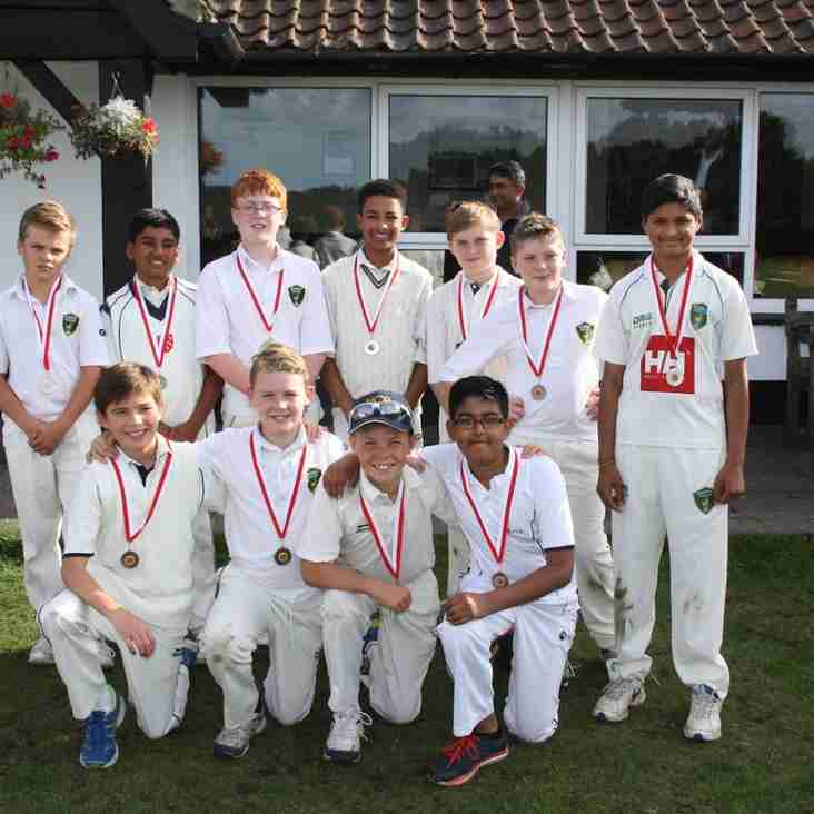 U12 Narrowly Defeated in Cup Final