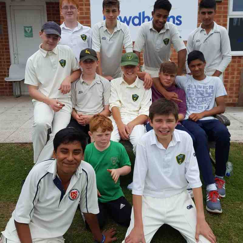 U14s Win NYCL Cup vs Caythorpe