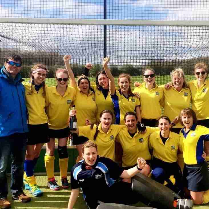 Ladies 3s are promoted as champions of division 2