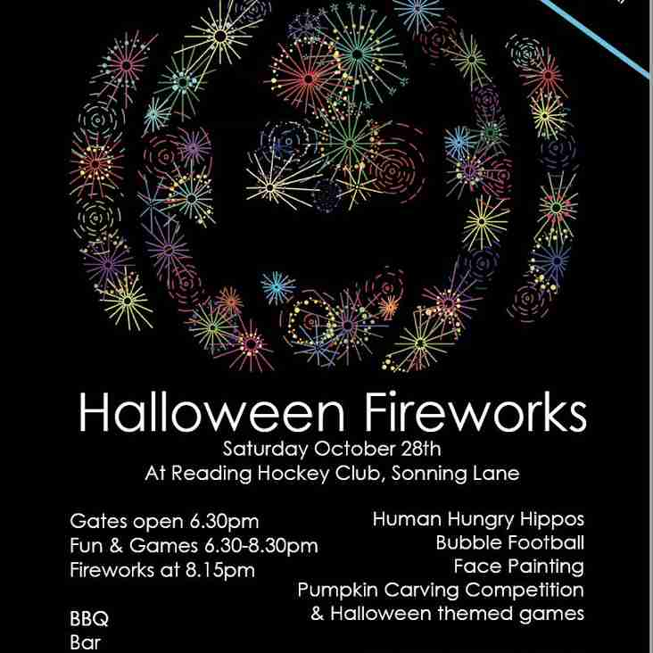 Come to Halloween Fireworks