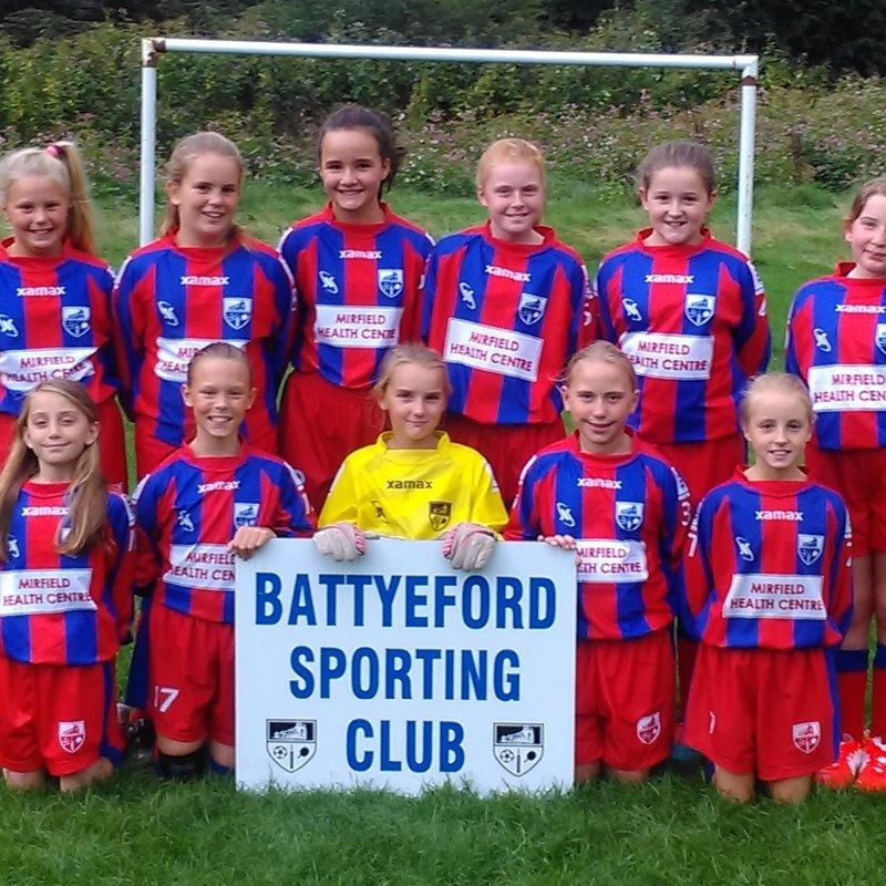 Battyeford Sporting Club vs. Battyeford Presentation Day