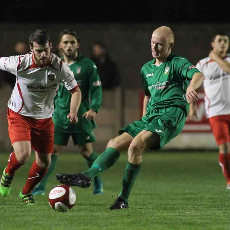 Burscough FC 1st Team v Colne - Tue  1 Nov by Marc Taylor