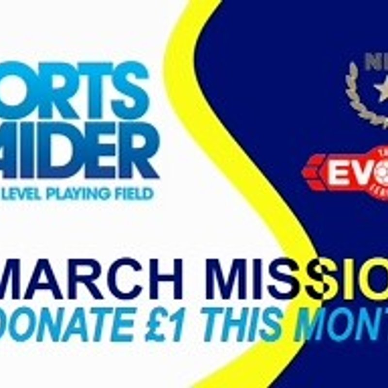 Sports Traider March Mission