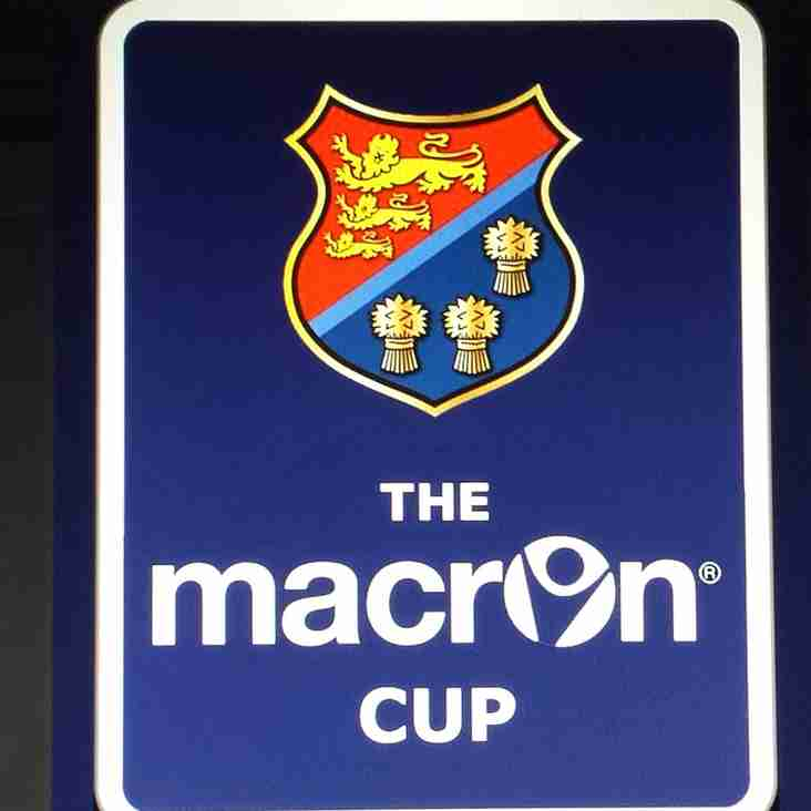 Macron Cup Quarter Final Draw
