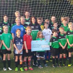 Cheque presentation from Tesco's