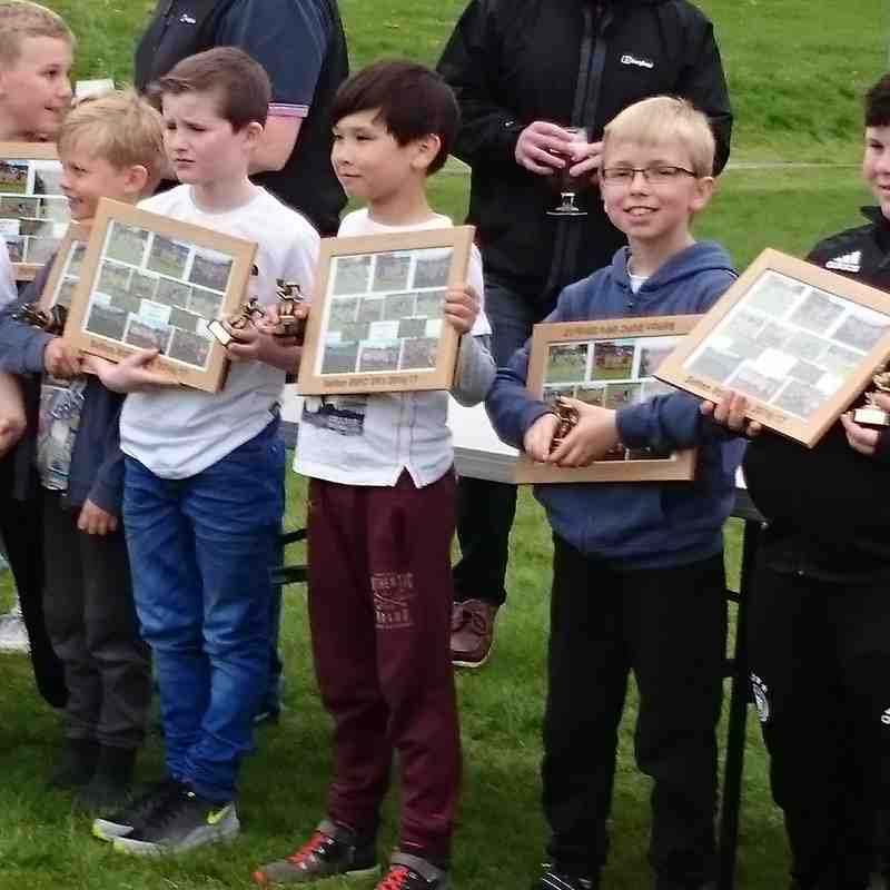 Presentation Day 2017 - U9's (now Under 10's)