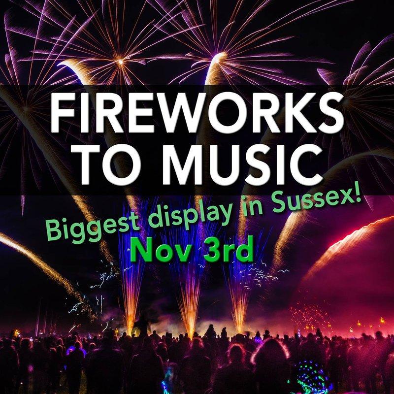 Nevill Fireworks Display - Saturday 3rd November - Bar run by B&H Cricket & Hockey Clubs