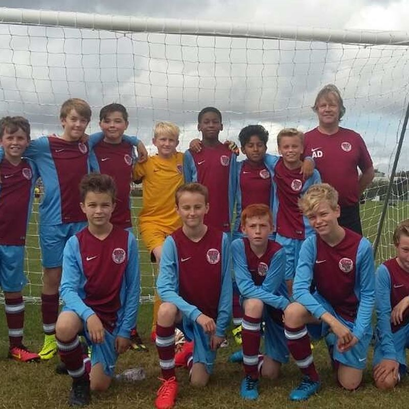 U13 Typhoons beat BSCFC Wanderers U13 6 - 2