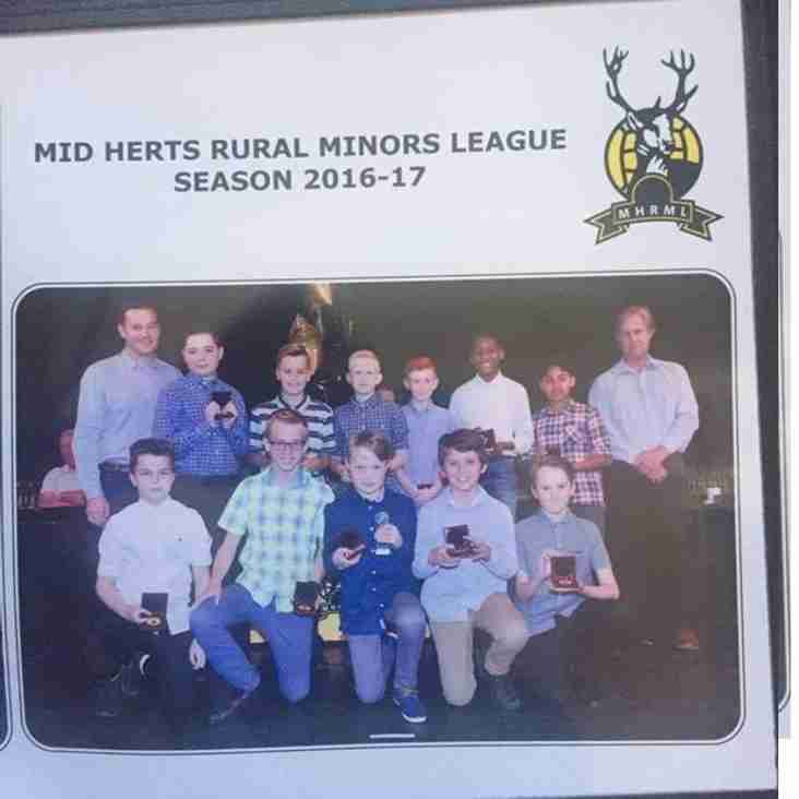 Our U12 Typhoons win the MHRML U12 Sportsmanship Award