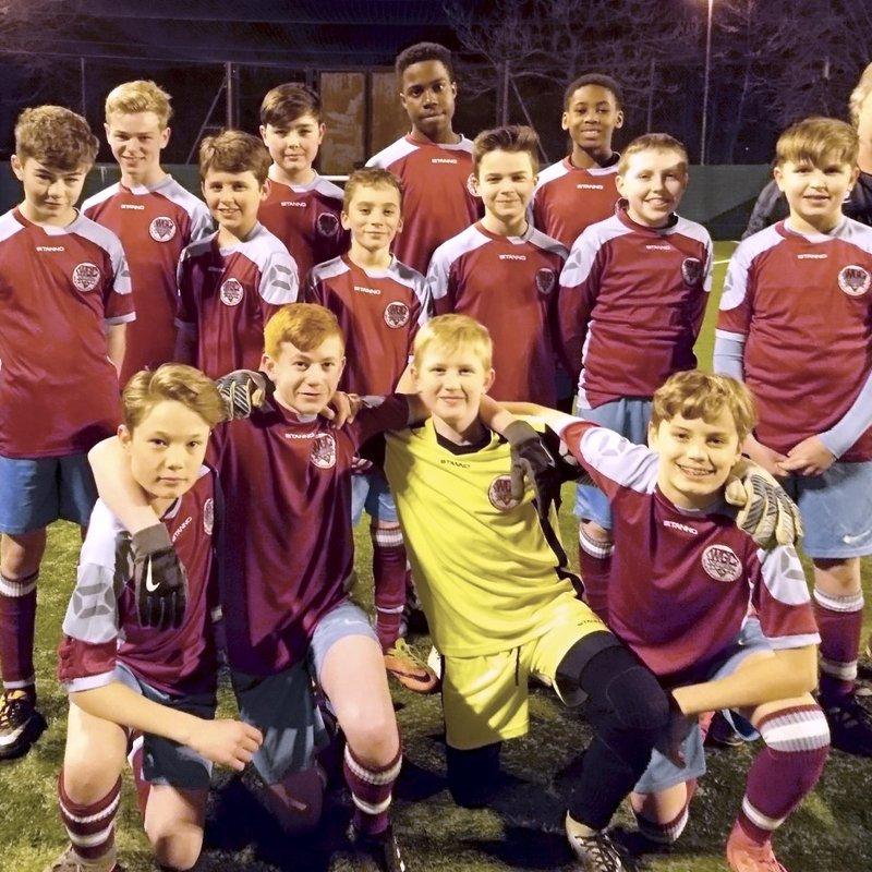 U13 Typhoons beat Bury Rangers Whites U13 2 - 6