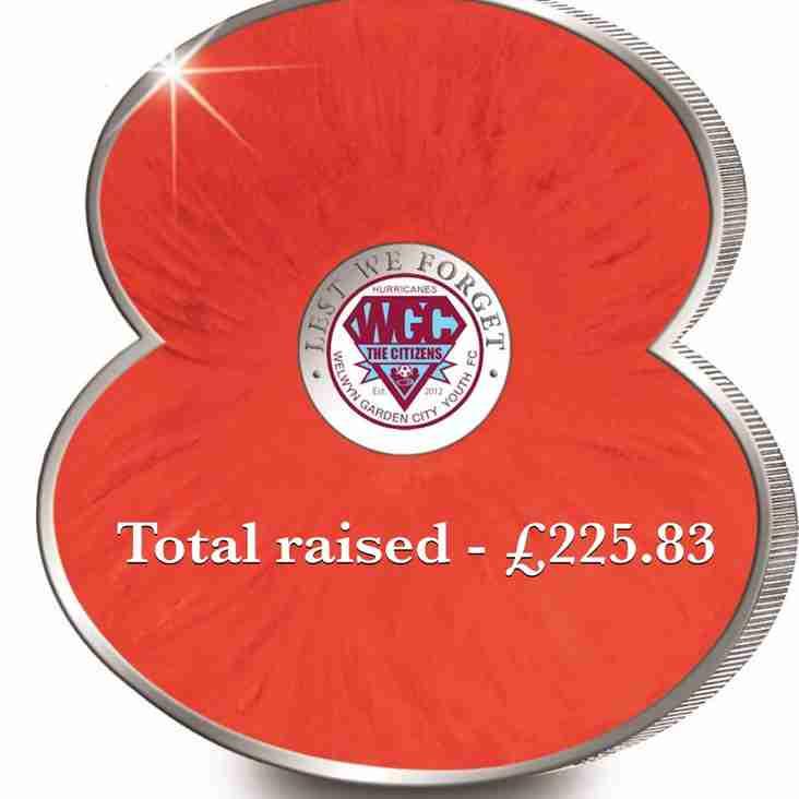 Welwyn Garden City Youth FC Remembers