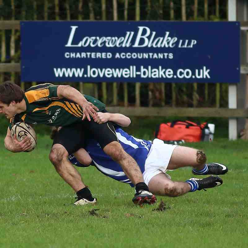 Diss Colts 16 : 22 Bury Colts - 9th November 2014