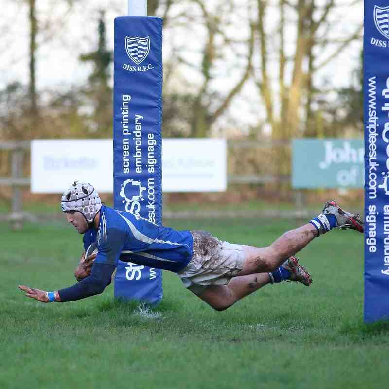 Saracens 55 : 6 Wymondham 2s - 16th January 2016
