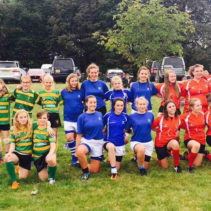 Diss Vixens resounding success at Norfolk 10's festival