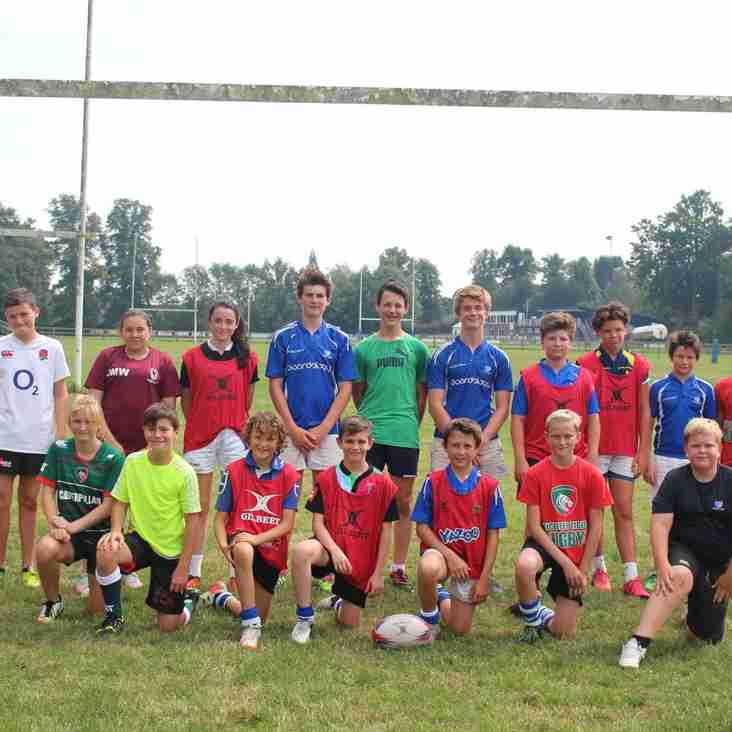 England RFU develops local rugby talent