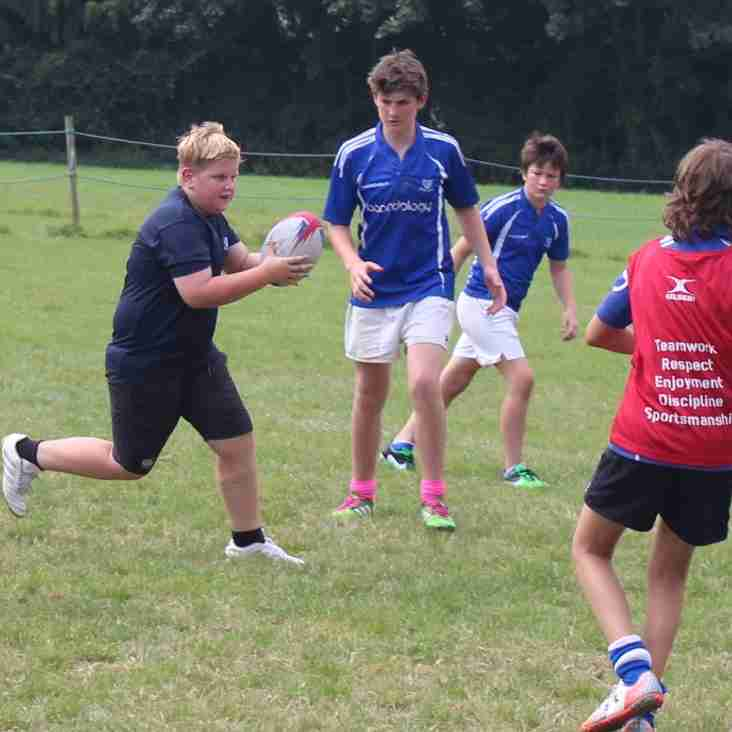 Mini and Junior rugby is thriving at Diss RFC