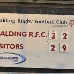 Spalding RFC v Newark 5th November 2016