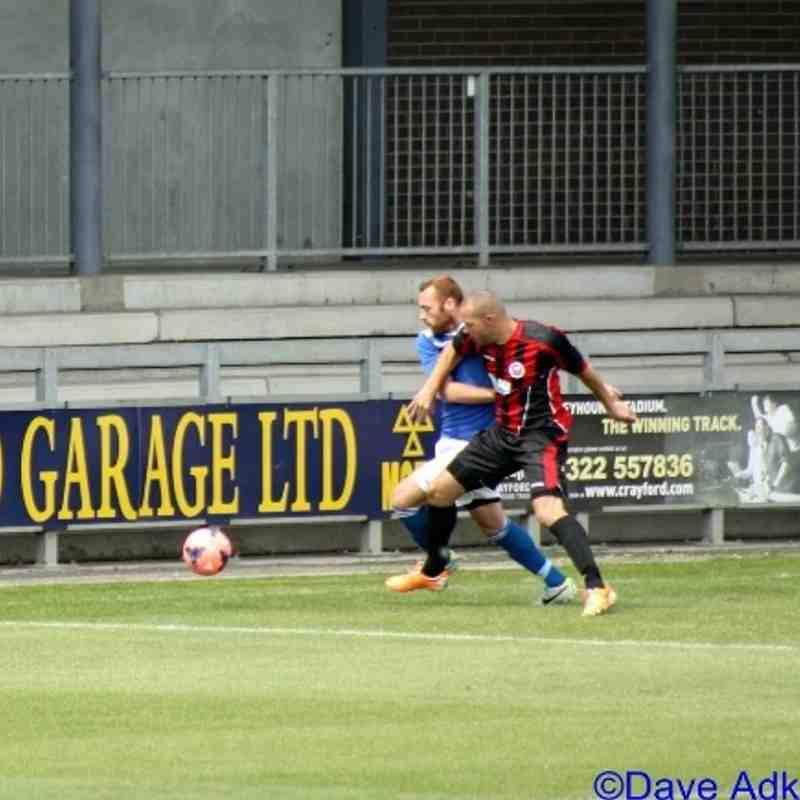 Dartford (H)- Friendly - 3 August 2014