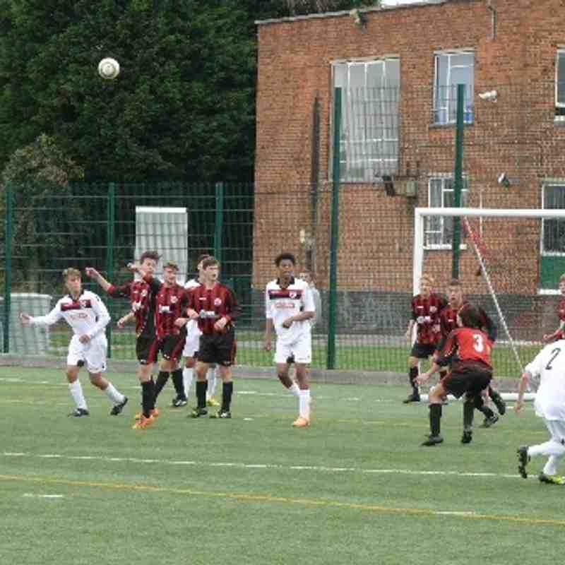 U18's v Fisher - 7 September