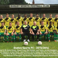 Dudley Sports FC 2014/2015