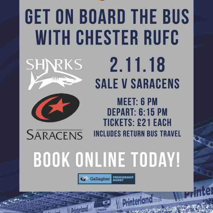 Sale Sharks vs Saracens