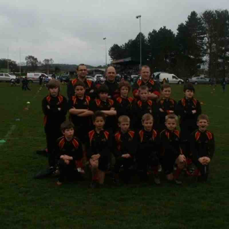 team photo u11 stourton
