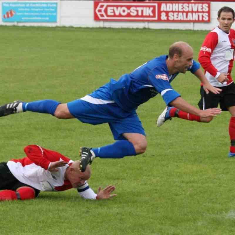 Ashton United v Matlock Town 13.08.11