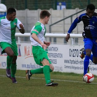 Nantwich Fall to Amadi Brace