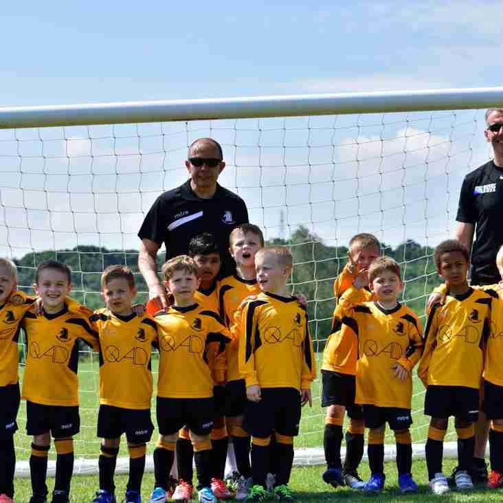 New Sponsors for Albion U6 Squad