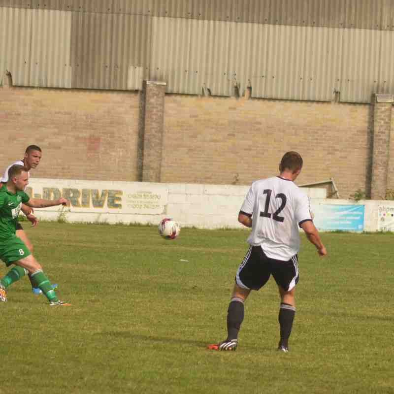 Swans 4 Hamworthy Recreation 2 (27.08.16.)