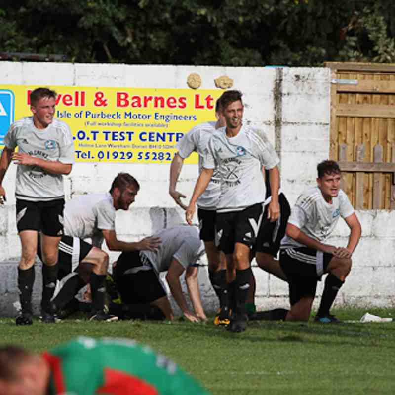 FA Vase - Swans 4 Ash United 3 (2-2 AET) 09.09.17 - Photos By Haydn Sparkes