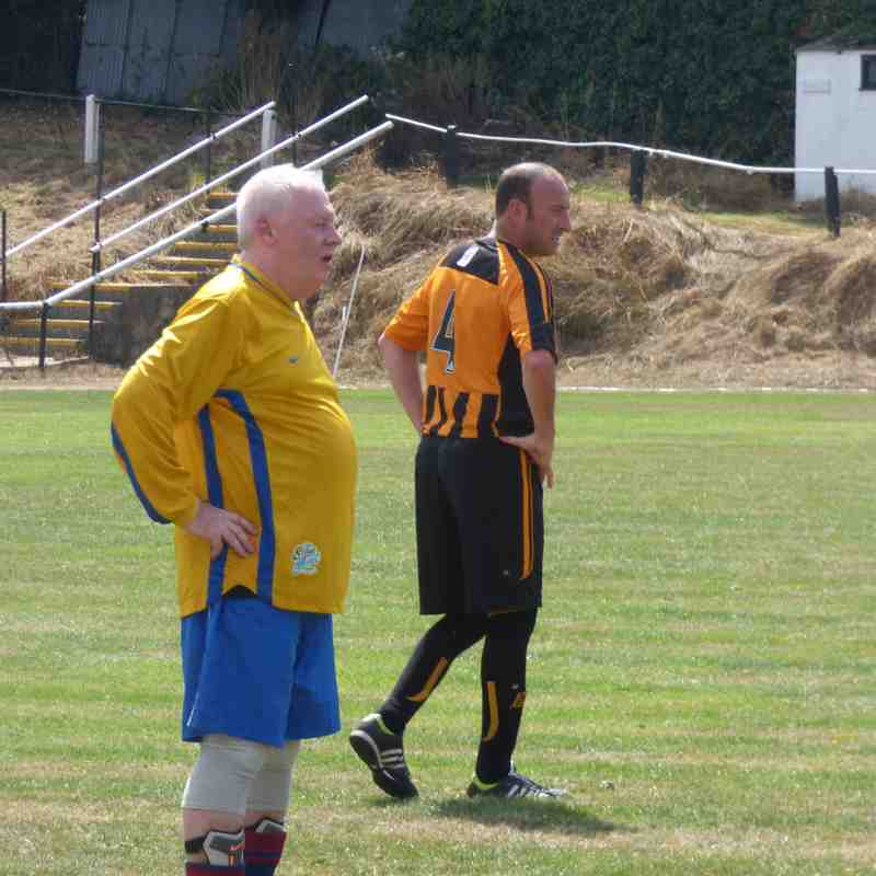 The Jimmy Hollywood Day - Swans Vets 0 Wareham Vets 3