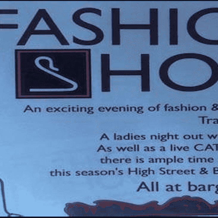 Fashion Show At The Clubhouse