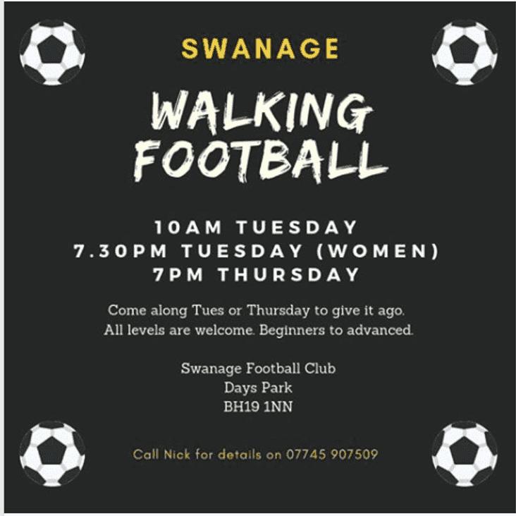 Walking Football Needs You