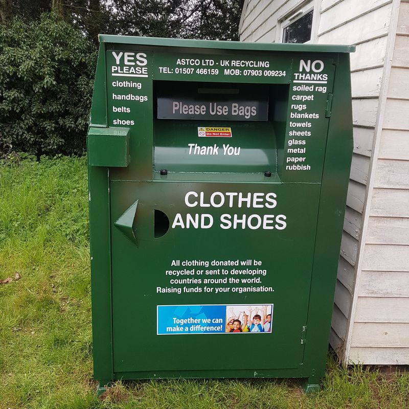 Recycle your unwanted clothes!