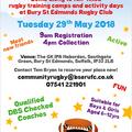 May 29th Half Term Activity Camp