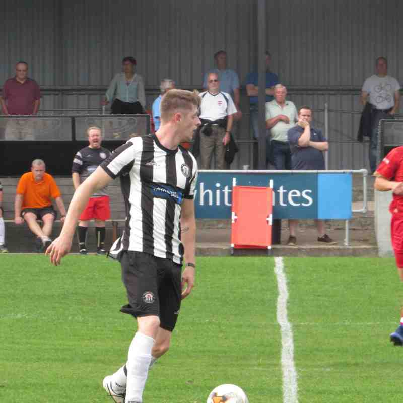 Pre Season Friendly vs Ilkeston FC 21/7/2016