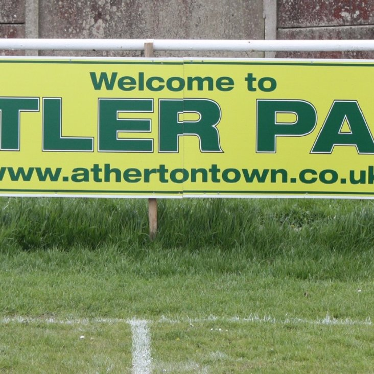 Advertise at Butler Park, home of Atherton Town FC<