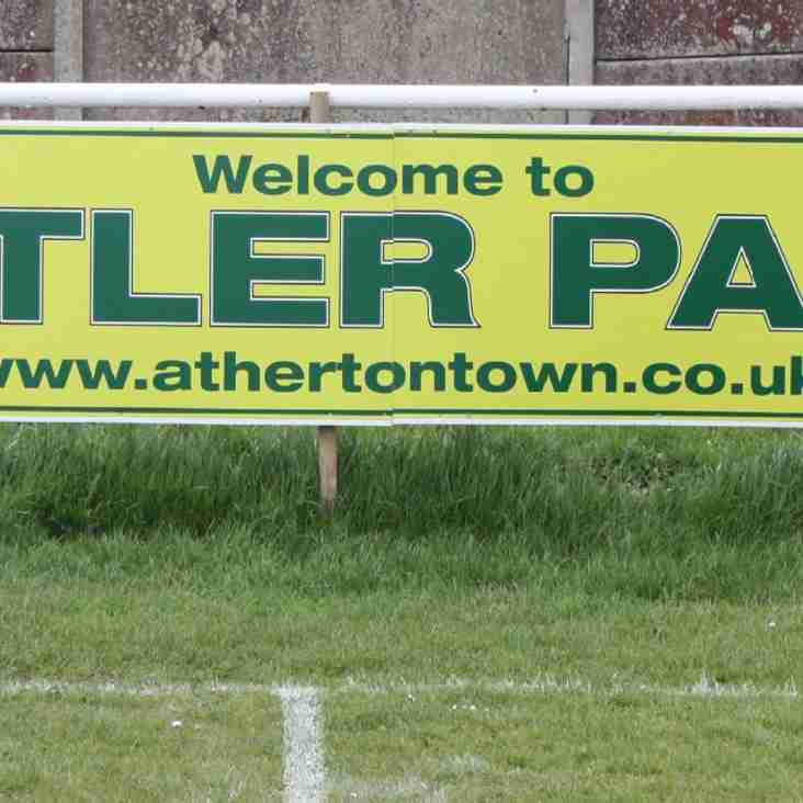 Advertise at Butler Park, home of Atherton Town FC