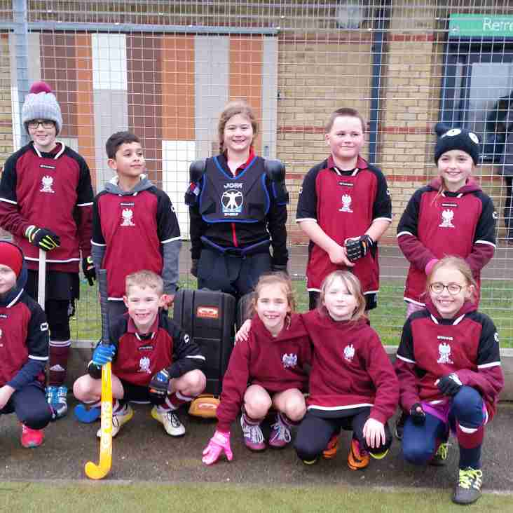 U8s and U10s perform well at Shefford and Sandy
