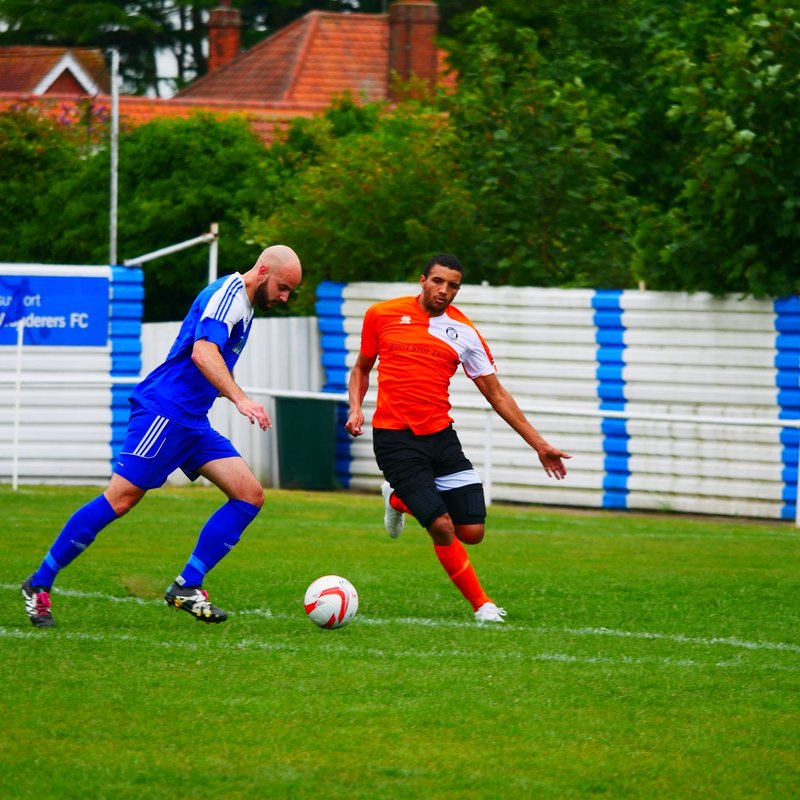 WANDERERS GIVE BURY TOWN A SCARE