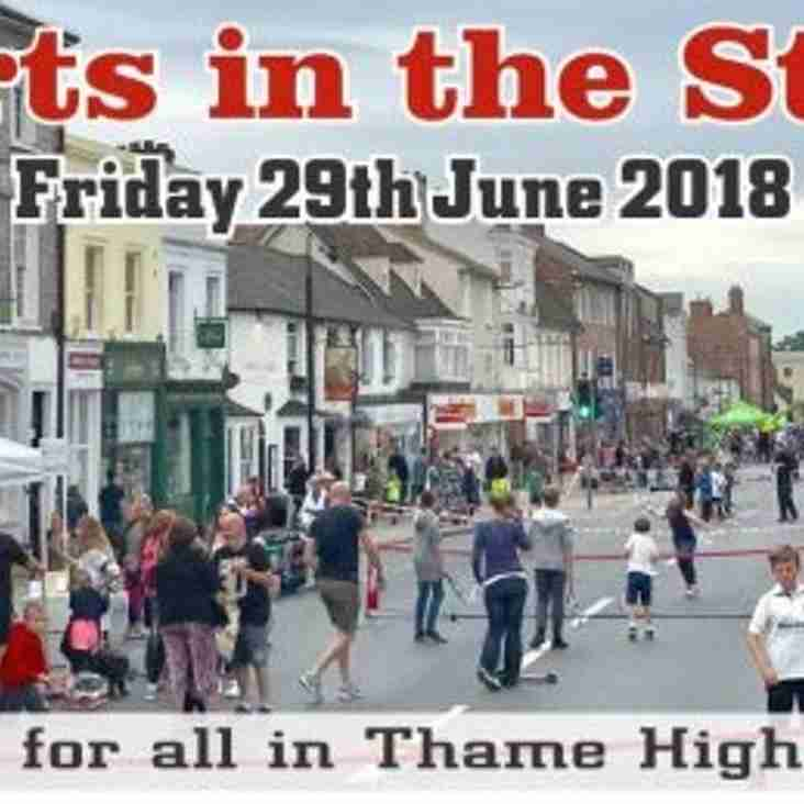 Come and support Thame Sports in the Street