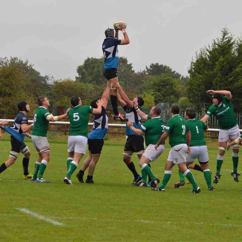 Rams V London Irish 10/9/16