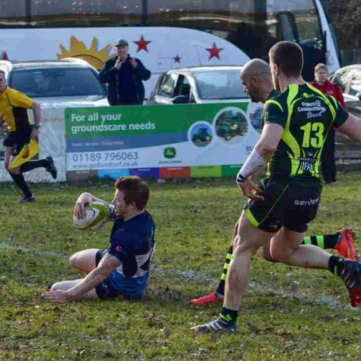 Foxley Makes It Four In A Row: Rams Win Over Bury St Edmunds