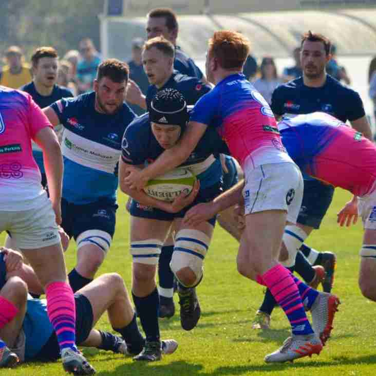 Rams contend with 1st place: Narrow loss to Bishop's Stortford.