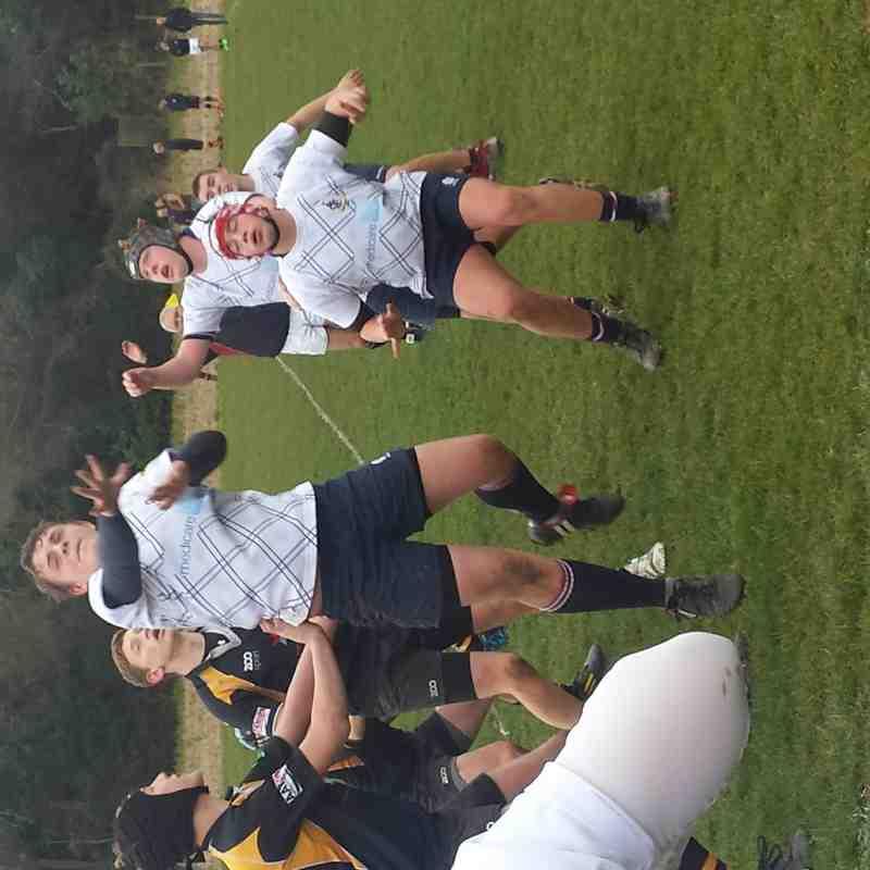 Sidcup U15s v Canterbury RFC 22.03.2015