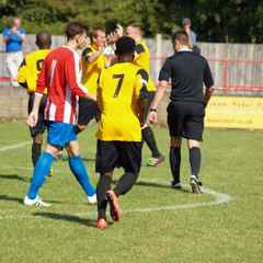 1st Team v Beaconsfield SYCOB in FA Cup