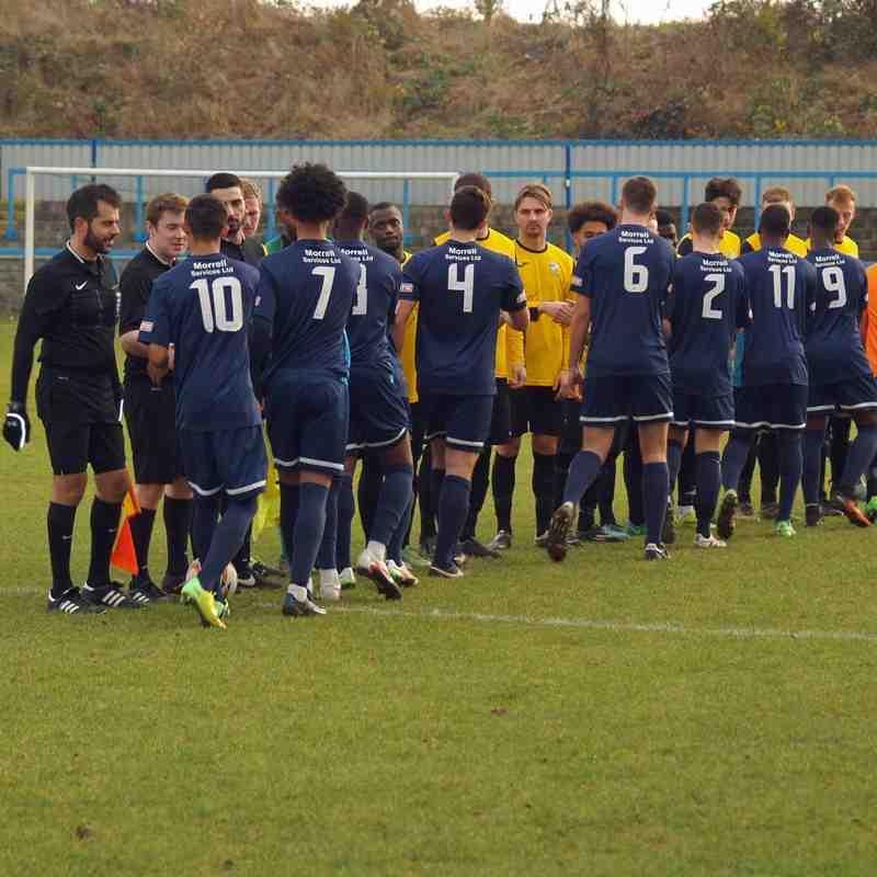 1st Team v Arlesey Town - 26th November 2016